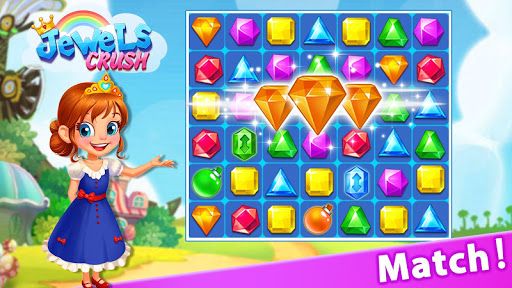 Jewel Crush™ - Jewels & Gems Match 3 Legend 3.0.0 screenshots 1