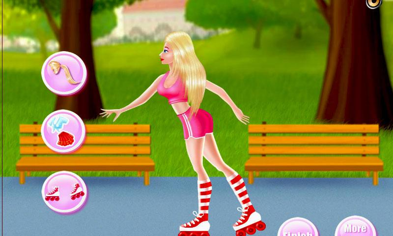 Antonia Roller Skates Day- screenshot