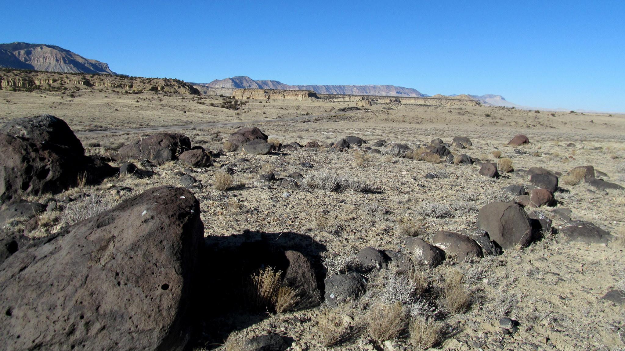 Photo: Stone circle along Oak Spring Creek