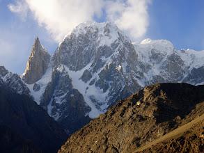Photo: Ladyfinger  & Hunza Peak from Eagels nest