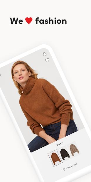 H&M - we love fashion Android App Screenshot