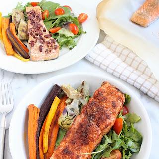 10 Minute Salmon, 4 Ways Recipe
