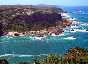 Photo: The mouth of the Knysna River, from Featherbed Nature Reserve