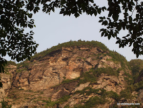 Photo: Cliffs at Smugglers' Notch State Park by Norm & Sharon Rabtoy