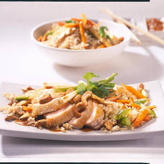 Chinese Chicken with Fried Rice.