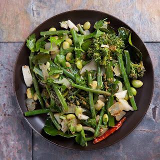 Asian Inspired Broccolini Recipe, Edamame, Coconut