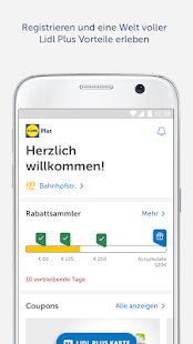 Lidl Plus Screenshot