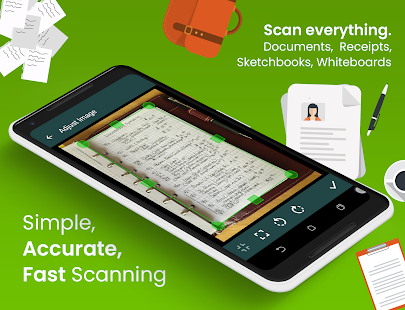 Clear Scan: Free Document Scanner App,PDF Scanning Screenshot