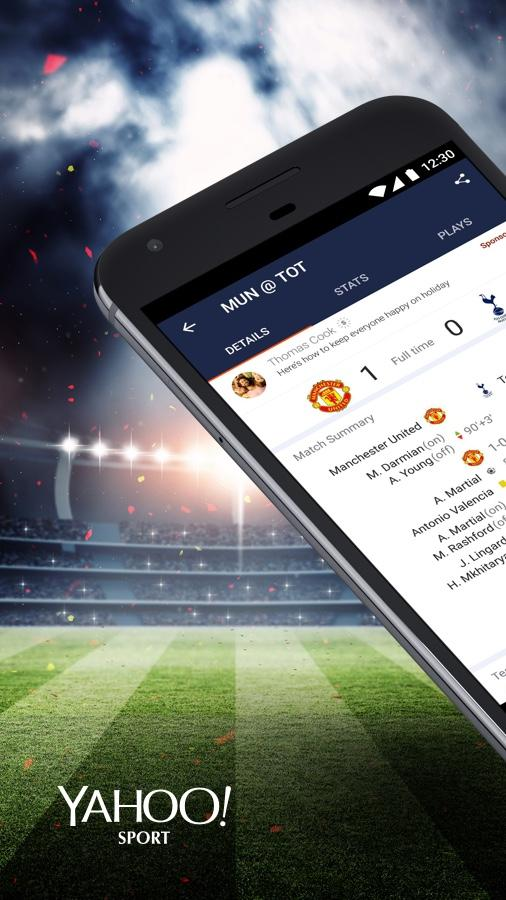 Yahoo Sport: Football & More- screenshot