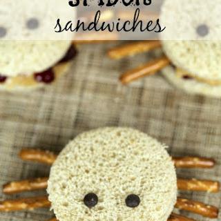 Spider Sandwiches.