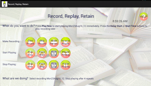 Record, Replay, Retain screenshot 3