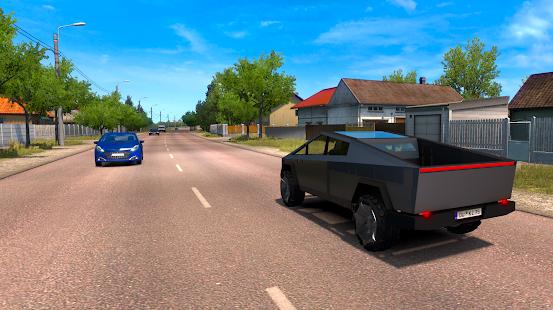 CyberTruck Electric Car Driving Simulator 2020 for PC-Windows 7,8,10 and Mac apk screenshot 2