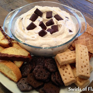 Chocolate Chunk Cannoli Dip