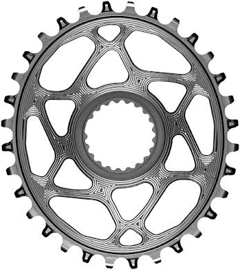Absolute Black Oval Direct Mount Chainring - Shimano Direct Mount, 3mm Offset, Requires Hyperglide+ Chain alternate image 5