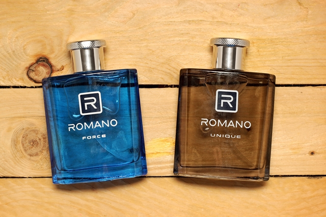 Minyak wangi Romano Force dan Romano Unique