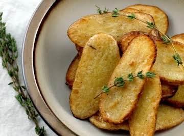 Salt and Vinegar Broiled Potatoes