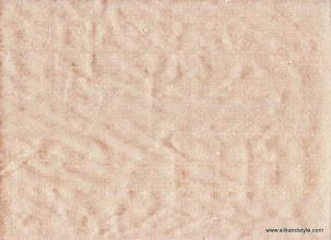 Photo: 100% Handloom Dupioni Silk - H/L Blush 60 (Mango 90)