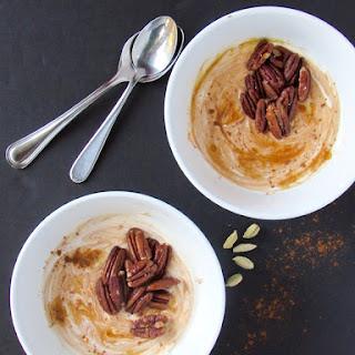 Pumpkin Chai Yogurt w/ Coconut Oil Roasted Pecans.