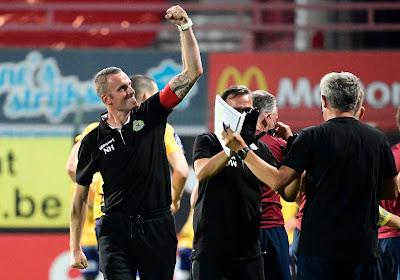 """Waasland-Beveren n'a pas raté le moment qu'il attendait: """"Des joueurs avec un coeur de lion"""""""
