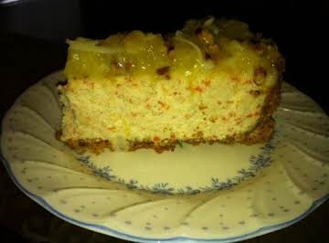Carrot-Pecan Cheesecake