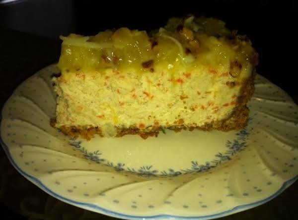 Carrot-pecan Cheesecake Recipe