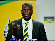 Justice and constitutional development minister Ronald Lamola. File picture.