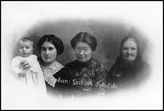 Photo: Zdjęcie rodzinne z końca XIX wieku (z anonimowej kolekcji)