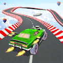 Impossible Racing Car Mountain Climb Stunt Drive icon