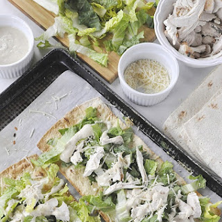Chicken Caesar Flatbread Recipes