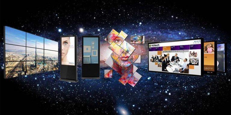 Digital signage and programmatic advertising. Source: Visi.tiga.media - Digital Signage vs Static Signage - The Rev