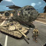 US Army Transport - Army Cargo Plane & Tanks