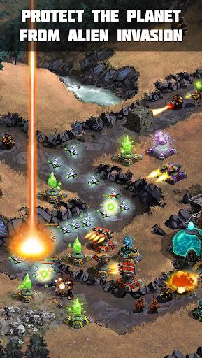 Ancient Planet Tower Defense Offline apkmartins screenshots 1