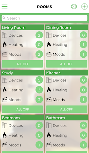 LightwaveRF Home Automation - náhled
