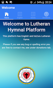 SA Hymnal for Lutherans - náhled