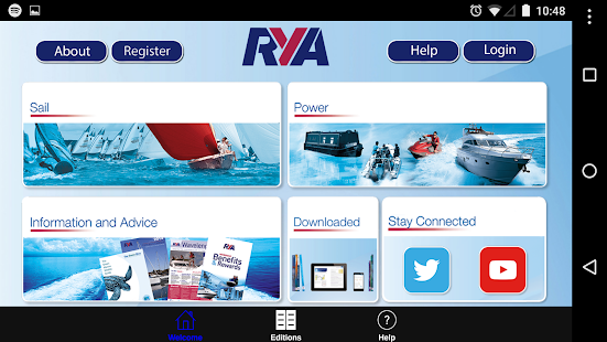 RYA Books- screenshot thumbnail