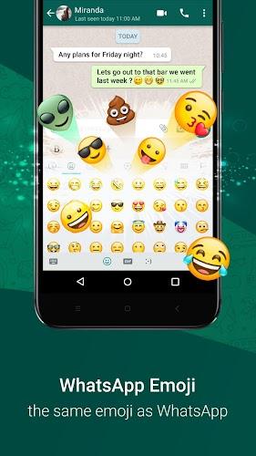 Download Clickey: Express Whatsapp Emoji Chat Keyboard APK latest