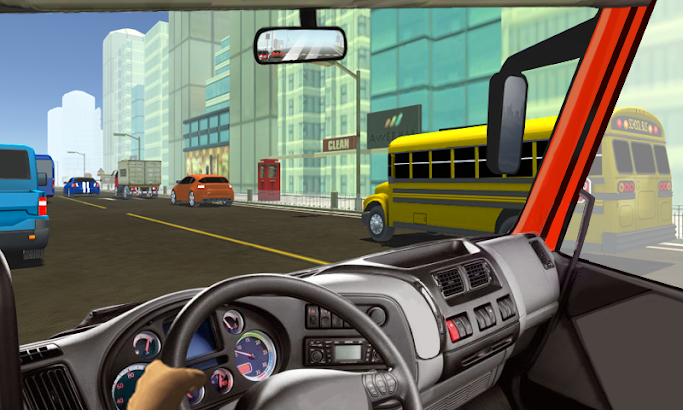 Traffic Truck Racer screenshot