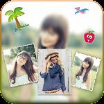 Blur Background Photo Collage