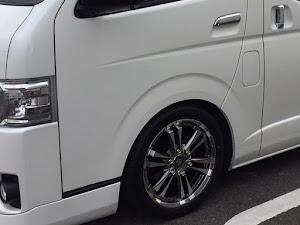 ハイエースバン TRH200V 5型S-GLダークプライムセレクション・2018年式のカスタム事例画像 こめけんさんの2020年02月21日07:58の投稿