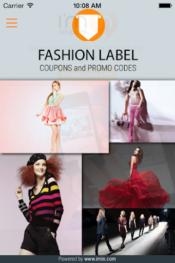Fashion Label Coupons -I'm in