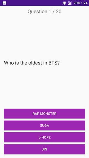 BTS Trivia Quiz Game 1.0 screenshots 4