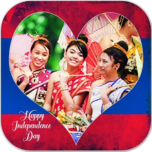 Laos Independence Day Frames