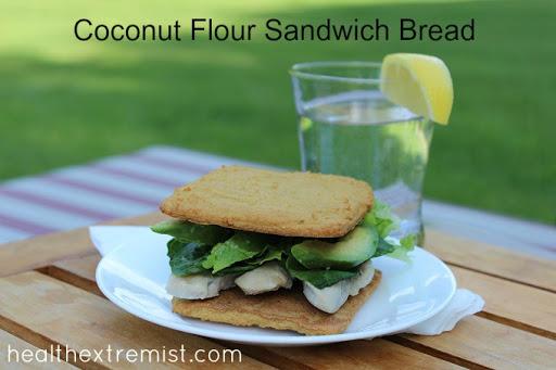 Coconut Flour Bread Recipe – Perfect Sandwich Bread