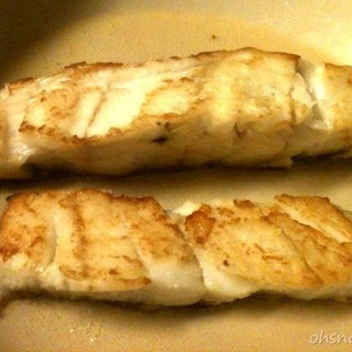 Pan Fried Cod