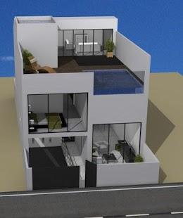 Minimalist home plan - náhled