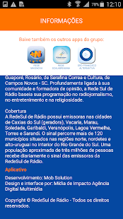 RedeSul de Rádio- screenshot thumbnail