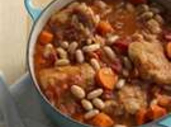 Tuscan Chicken And Bean Stew Recipe
