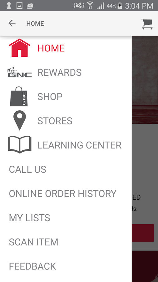 GNC- screenshot