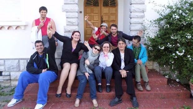 L'équipe porteuse du projet de L'Arche à Nay
