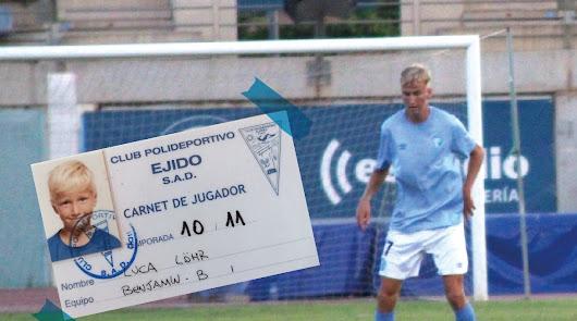 Luca Lohr, de benjamín a debutar con el primer equipo